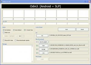 Firmware flashen i9100 odin
